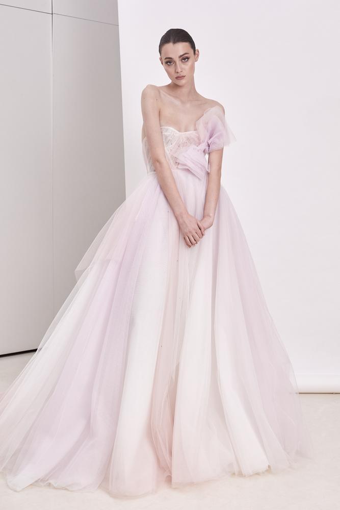 pretty nice 56c73 ed8ce Abito da sposa rosa cipria, vestirsi di eleganza