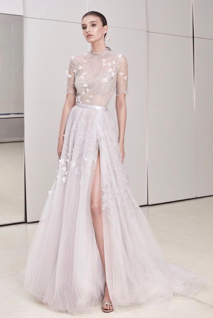 abiti da sposa colorati 2020