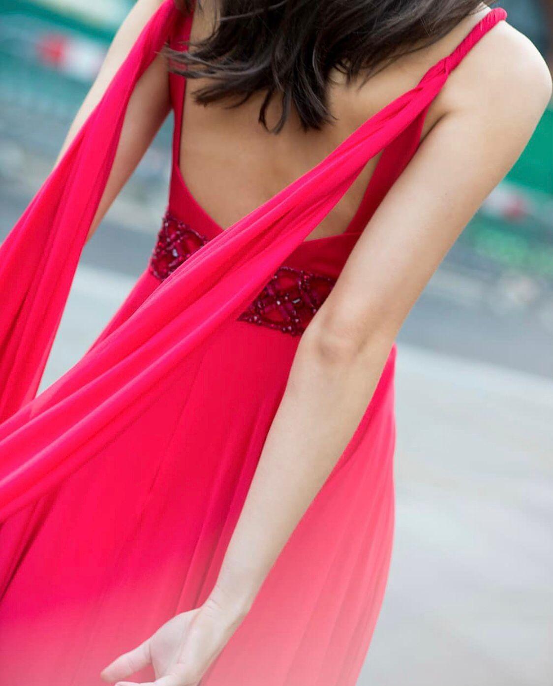 abito da sposa colorato