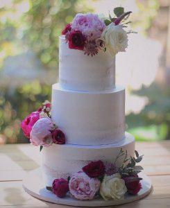 torta di matrimonio a piani