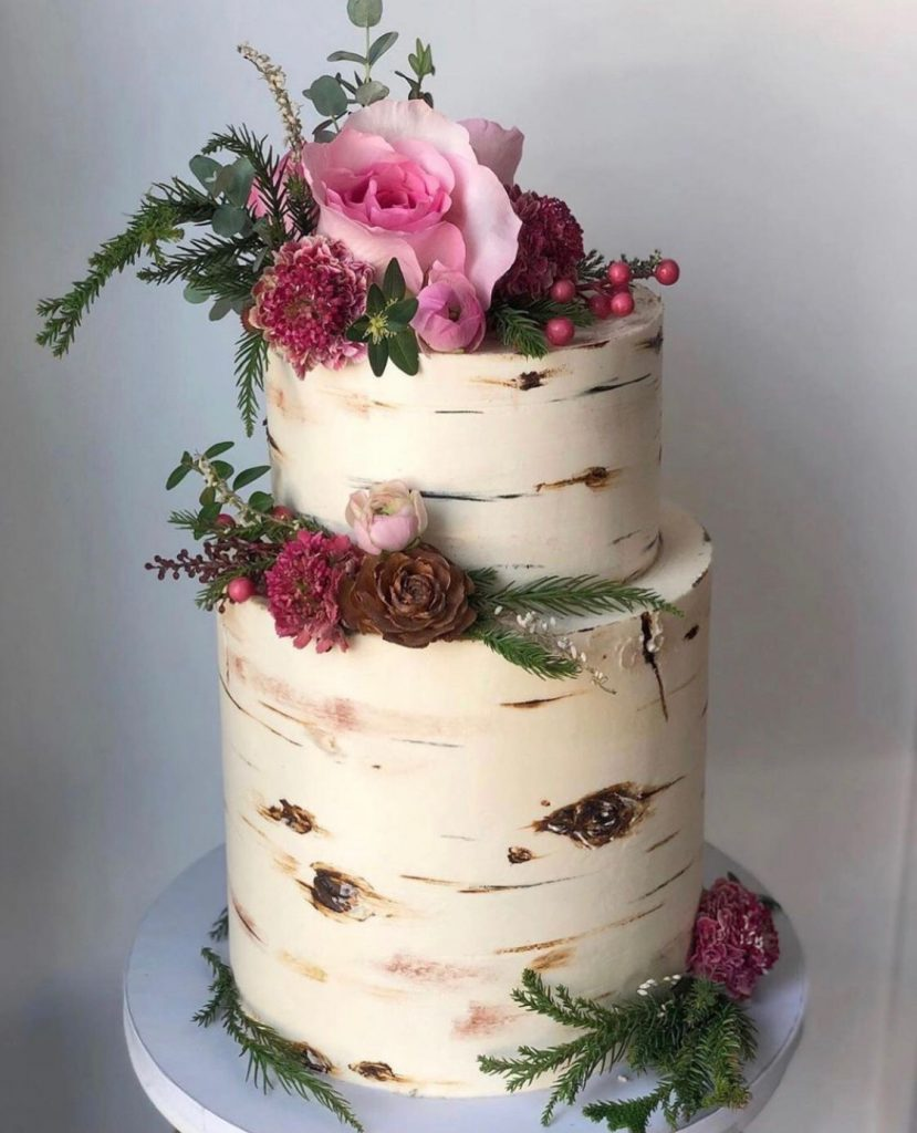 torta di matrimonio naked cake