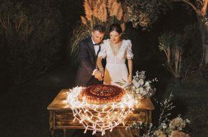 torta nuziale all'italiana