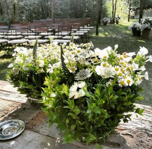 fiori per un matrimonio d'estate