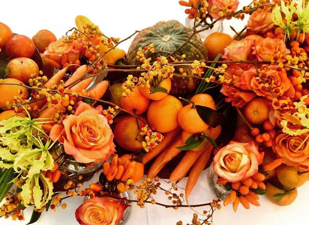 menu matrimonio autunno